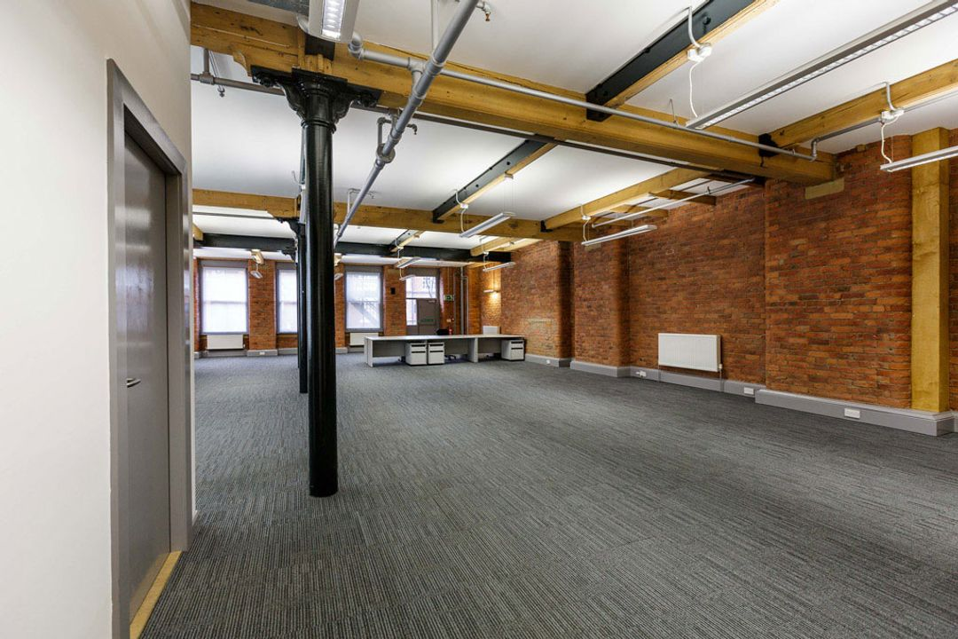 Buffalo 7 - Office space before fit out and furniture installation