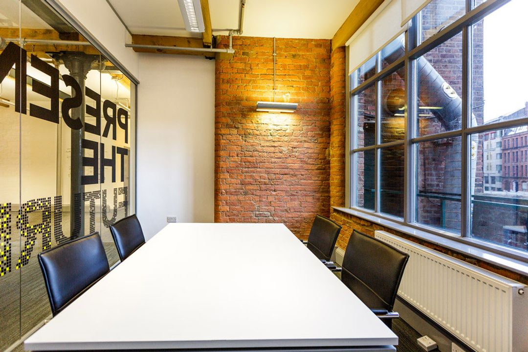Buffalo 7 - Office space After fit out and furniture installation. Showing main boardroom interior